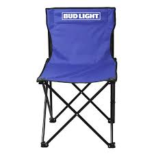 outdoor bud light armless folding lawn chair tg 7865bl