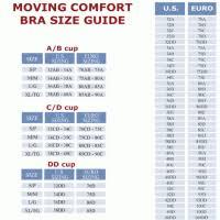 Moving Comfort Bra Size Chart Nike Pro Classic Sports Bra Size Chart Nike Sports Bra