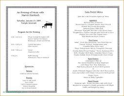 Event Programs Sample Event Programs 3 Sponsorship Proposal