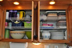 Kitchen Closet Shelving 24 Easy Rv Organization Tips Rvsharecom