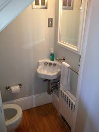 Small Picture Find another beautiful images Cute Half Bath Tucked Under Stairs