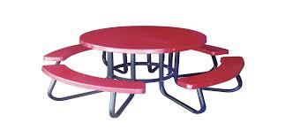 fiberglass round children s picnic table