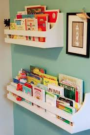 kids room wall shelves inspired by pottery barn kids made for less than 5 happy baby