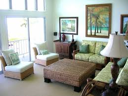 tropical themed furniture. Tropical Green Living Room With Rattan Furniture Designer And Cushion For Small Spaces Themed M
