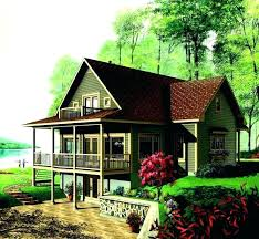 lake house plans walkout basement cabin with best images on small lake house plans walkout basement cabin with best images on small