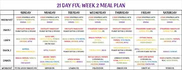 21 Day Fix Meal Chart 21 Day Fix Meal Plan Are You Set For Nutrition Success