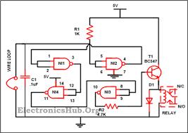 luggage security alarm project circuit logic gates Boolean Logic Diagram at Logic Gates Wiring Diagram