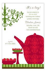 Christmas Tea Party Invitations Christmas Tea Invitation