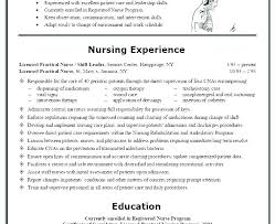 Lpn Sample Resume Awesome Lpn Resume Sample Long Term Care Resumes Skills For Unbelievable