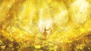 Anime Gold Wallpapers on WallpaperDog