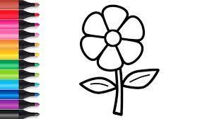 Tô màu bông hoa giúp bé hoàn thiện 4 kỹ năng tuyệt vời này