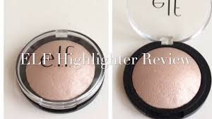 elf cosmetics highlighter review