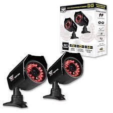 cam 2pk 624 2pk hi resolution 600 tvl security cameras 50 ft of night vision