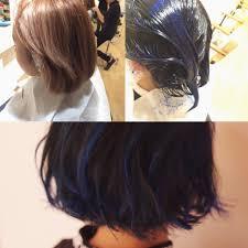 外国人みたいに綺麗に髪をブルー系のヘアカラーにするポイント
