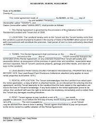 Rental Lease Letters Landlord Cover Letter Sample Sample Rental Lease Agreement Free