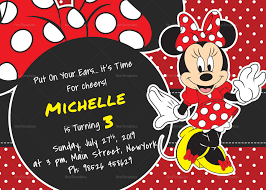 045 Template Ideas Mickey Mouse Birthday Invitationse