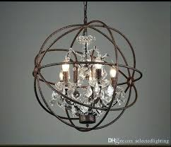 chandeliers restoration hardware chandelier chandeliers orb crystal look shades