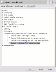 Jviews Chart Security Warning When Running Jviews Application With Applet