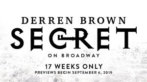 Derren Brown Secret Broadway Lottery Tkts Rush Sro Policies