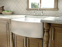 fireclay farmhouse sink. Fireclay Apron Sink Curved Front Farmhouse 33 S