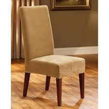 sure fit pique dining chair slipcover white