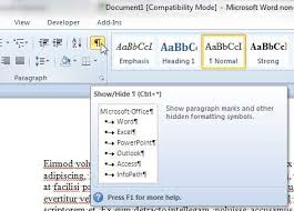 How To Remove A Page Break In Word 2010 Solve Your Tech