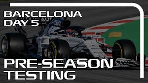 🔴F1 Preseason Testing Day 5 - Live F1 2020 Test Barcelona Timetable  Streaming Hd - YouTube