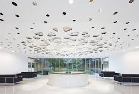 Acoustic Ceiling Lights Light Meets Sound Acoustic Lighting Keeps Noise In Check