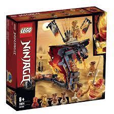 Mô hình đồ chơi lắp ráp LEGO NINJAGO Firefang-Rắn Lửa Khổng Lồ 70674 (463  Chi tiết) - Lắp ghép, Xếp hình