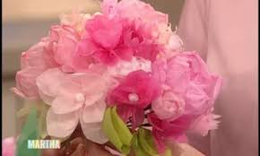 Paper Flower Wedding Decorations Video Easy Paper Flower Wedding Decorations Martha Stewart