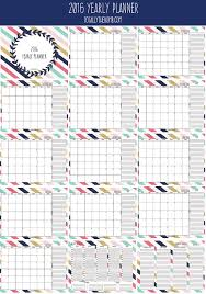 2016 Free Printable Yearly Planner Plus Four Free Guides