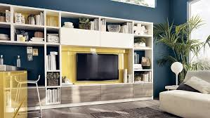 Small Picture 12 Dynamic Living Room Compositions with Versatile Wall Unit Systems