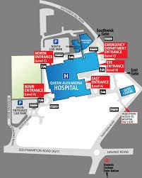 queen alexandra hospital site