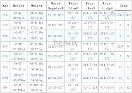 Gap Childrens Size Chart Baby Gap Size Chart Lovely Baby Clothes Chart New Boys