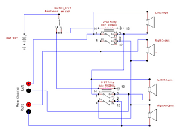 troubleshooting dpdt relay in my speaker switch project