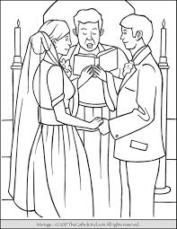 sacrament coloring pages. Perfect Sacrament Sacrament Marriage Coloring Page On Pages M