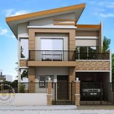 Simple House Design Pictures Pleasing 2 Story House Simple Design Two Storey Modern House Designs