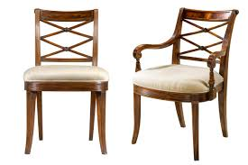 Low Back Dining Room Chairs Mahogany Cross Back Dining Chairs Fine Antique Reproductions