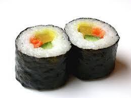 Resultado de imagen de sushi de algas