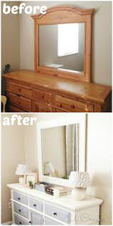 how to use chalk paint tutorial including a dresser makeover from ugly duckling to white swan