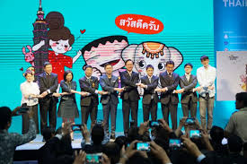 taiwan expo 2018 trade show opens in bangkok