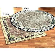 round animal print rugs animal print rugs animal print tablecloth round leopard print rug small size round animal print rugs