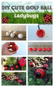 Golf Ball Decorations Cute Golf Ball Ladybugs 88
