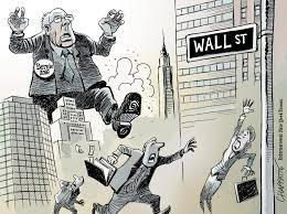 Bernie Sanders goes to Wall Street | Chappatte.com