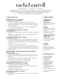 Resume Layout Example Good Resume Layout Example Best Resume Gallery ...