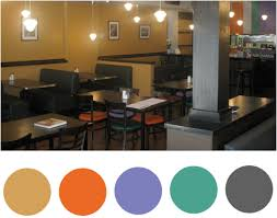 Color ideas restaurant kitchen design