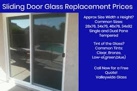 sliding glass door replacements by valleywide glass llc
