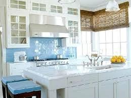 accent tile backsplash ideas wall blue kitchen white subway with glass mosaic accent tile backsplash for stone
