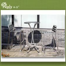 modern cafe table chairs set
