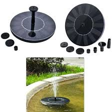 solar water fountain for bird bath outdoor solar water pump durable set round bird bath water fountain resin solar bird bath water fountain
